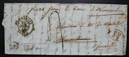 St Ambroix Gard Décime Rural, + Or Lettre Pour Marseillan, Renvoyée Aux Bains De Lamalou - 1801-1848: Précurseurs XIX