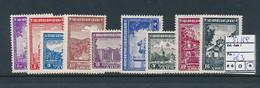 SERBIA GERMAN OCCUPATION YVERT 51/59 LH - Serbien