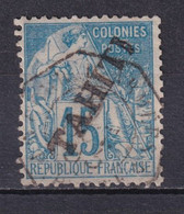 TAHITI - 1893 -  YVERT N° 12 OBLITERE - COTE = 55 EUROS - Used Stamps