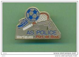 POLICE *** AS Martigues Port De Bouc *** 2108 - Polizia