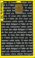 TELECARTE  France Telecom  50  UNITES.      1.500.000.  EX - Telecom Operators