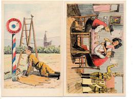 Illustrateur A. JAEGY : Lot De 20 Cartes Patriotiques (Série Complète) - War 1939-45