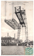 44 NANTES - Le Pont Transbordeur En Construction - Montage Par Grues électriques - Nantes