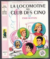 """Nouvelle Bibliothèque Rose N°27 - Club Des Cinq - Enid Blyton  - """"La Locomotive Du Club Des Cinq"""" - 1965 - Bibliotheque Rose"""