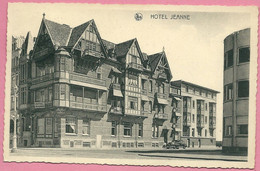 C.P. Middelkerke =   Hôtel   JEANNE - Middelkerke