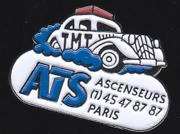 71205-Pin's.ascenseurs. ATS.Paris Voiture Citroen Traction - Citroën
