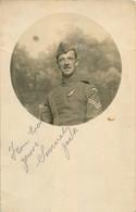 CARTE PHOTO 1918 SOLDAT - Oorlog 1914-18