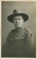CARTE PHOTO SOLDAT AUSTRALIEN 1919 - Oorlog 1914-18