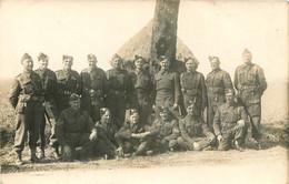 CARTE PHOTO GROUPE DE SOLDATS - Guerra 1939-45