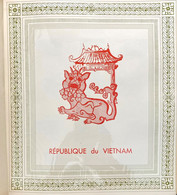 AFR174 10 Feuilles Album Soubayran VIET-NÂM Année 1951 à 1958 Neuf* Sauf 4 Timbres Côte > 250€ - Vietnam