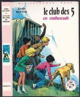 """Nouvelle Bibliothèque Rose N°265 - Club Des Cinq - Enid Blyton  - """"Le Club Des 5 En Embuscade"""" - 1976 - Bibliotheque Rose"""