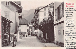 BECKENRIED (NW) Hauptstrasse - Ed. Guggenheim 5912 - NW Nidwalden