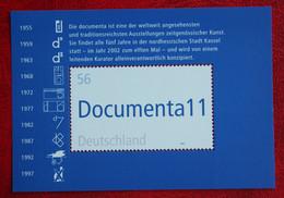 Documenta Modern Art Exhibition Kassel 2002 Mi 2257 Block 58 Neuf Sans Charniere POSTFRIS MNH ** Germany BRD / Allemange - Blokken