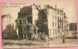 C.P. Middelkerke =  Puinen  Oorlog 1914-1918  :  Rue  VAN HINSBERG - Middelkerke