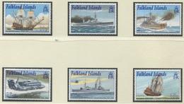 FALKLANDINSELN / MiNr. 816 - 821 / Schiffe Der Royal Navy Bei Den Falklandinseln / Postfrisch / ** / MNH - Boten