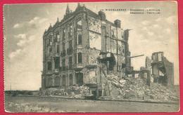 C.P. Middelkerke =  Puinen  Oorlog 1914-1918  :   Crocodile  :  Les  VILLAS - Middelkerke