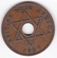 British West Africa 1 Penny 1957 Elizabeth II, En Bronze , KM# 33 - Other - Africa