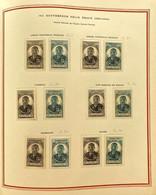 AFR184 2 Feuilles Album Soubayran Gouverneur Felix Eboué 1945 Neuf* Série Complète - 1945 Gouverneur-Général Félix Éboué
