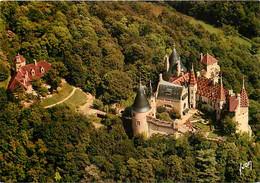 Chateaux - Château De La Rochepot - Vue Aérienne - Cote D'Or - Bourgogne - Carte Neuve - CPM - Voir Scans Recto-Verso - Castles
