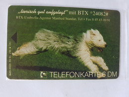 PHONECARD GERMANY  WITHOUT CHIP CARTEN  10/1992  TIRAGE  3 000 - K-Series : Série Clients