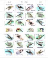 Suriname 2021, Tropical Birds, Sheetlet - Surinam