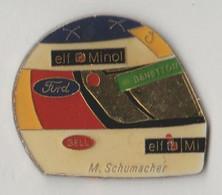 Pin's Casque M.SCHUMACHER - F1