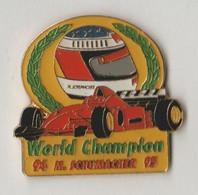Pin's  M.SCHUMACHER World Champion 94-95 - F1