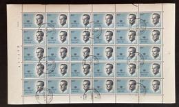 1984 - OBP 2137 VELGHE 100FR In VOLLEDIG VEL - Gestempeld OOSTROZEBEKE - 1981-1990 Velghe