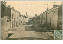 54.BOUXIERES AUX DAMES.n°31959.UNE RUE - Other Municipalities