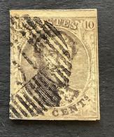 Medaillon 6 Gestempeld D16 FEXHE LE HAUT CLOCHER - 1851-1857 Medaillons (6/8)