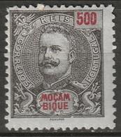 Mozambique 1901 Sc 70 Af 66 MH* - Mosambik