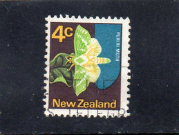 1970 Nuova Zelanda - Puriri Mooth - Gebraucht