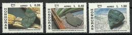 Honduras 1991 Mi 1119-1121 MNH  (ZS1 HND1119-1121) - Archéologie