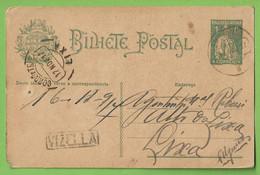 História Postal - Filatelia - Stationery - Stamps - Timbres - Philately - Vizela - Portugal - Enteros Postales
