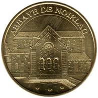 18-1099 - JETON TOURISTIQUE MDP - Abbaye De Noirlac - Le Chevet - 2011.5 - 2011