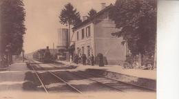 CHATEAUVILLAIN   LA GARE - Chateauvillain