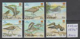 KIRIBATI   2OO4   **   MNH  YVERT    535/4O   VALOR  12.5O  €   PAJAROS - Kiribati (1979-...)