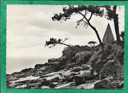 Granville Les îles Chausey L'Amer & La Pyramide 2scans 1957 Flamme M.& Mme Foulon Robert Bt49 A1 Rue Calibourg à Caen - Granville