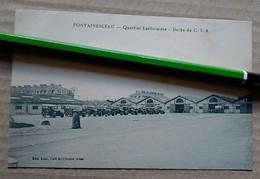 DOCK DU C.I.A. QUARTIER LARIBOISIERE FONTAINEBLEAU 77 SEINE ET MARNE WWI MILITARIA Envoi De Poilu 14-18 - Fontainebleau