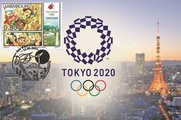 Luxembourg 2021 - Summer Olympics In Tokyo Carte Maximum - Neufs
