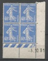 Coins Daté France Neuf *  N 237  Année 1931  Charniére En Haut - ....-1929