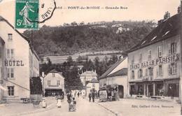 25 PONT DE ROIDE - Grande Rue - Ohne Zuordnung