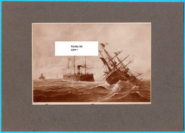 THE BATTLE OF VIS (LISSA) 1866 - AUSTRIAN EMPIRE Vs ITALY Old Photo * Austria-Hungary K.u.K. Osterreich Croatia Kroatien - Non Classificati