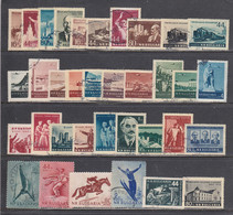 Bulgaria 1954 - Year Set Complete, Used (o), Mi-Nr. 900/34 - Années Complètes