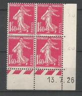 Coins Daté France Neuf *  N 196 Année 1926  Charniére En Haut - ....-1929