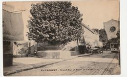 13 CPA MARSEILLE-MAZARGUES Grand Rue Et Route De Cassis  CIRCULEE 1915TBE - Quatieri Sud, Mazarques, Bonneveine, Pointe Rouge, Calanques