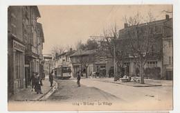 13 CPA MARSEILLECPA - ST LOUP - LE VILLAGE - PHOTO LACOUR N° 1224 CIRCULEE - Saint Marcel, La Barasse, St Menet