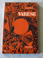Livre : Varèse - Collection Solfège - Musique