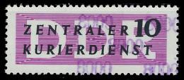 DDR DIENST VERWALTUNGSPOST-A ZKD Nr 10 N8000 Postfrisch X1D2996 - Oficial