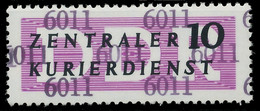 DDR DIENST VERWALTUNGSPOST-A ZKD Nr 10 N6011 Postfrisch X1D29E6 - Oficial